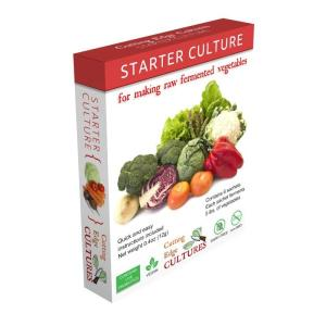 Starter culture for fermenting vegetables - 6 sachets - Cutting Edge