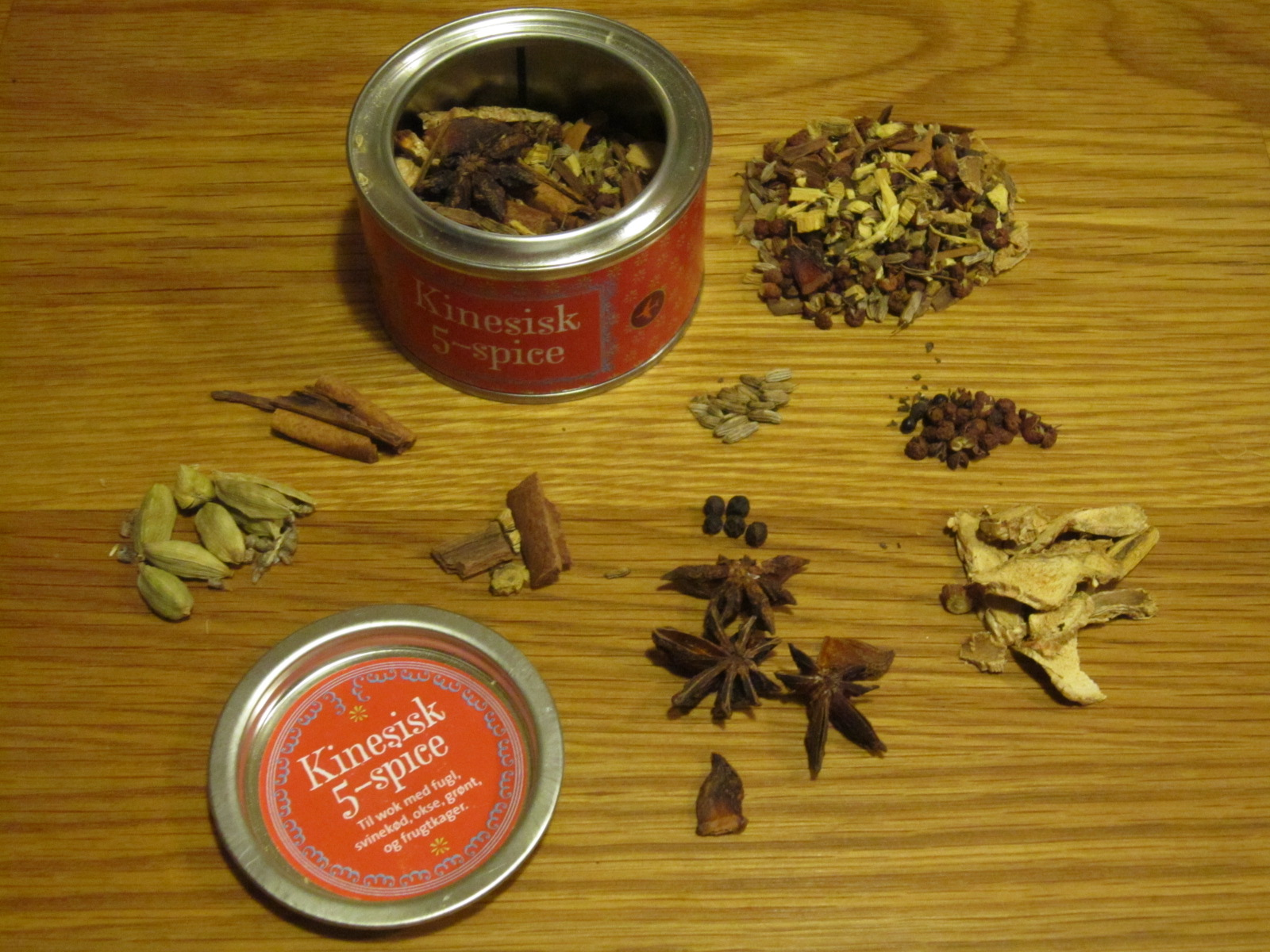 Description: 5-spice krydderiblandingen fra Camilla Plum
